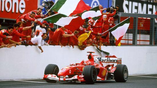 Michael Schumacher vittoria