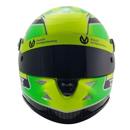 Mini Helmet 12 Mick Schumacher Belgium SPA 2018 Formula 3 Champion 4