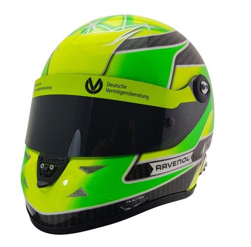Mini Helmet 12 Mick Schumacher Belgium SPA 2018 Formula 3 Champion