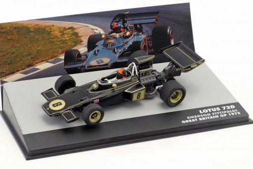 Modellino Atlas 143 Emerson Fittipaldi Lotus 72D 8 Winner Gp Brazil F1 1975