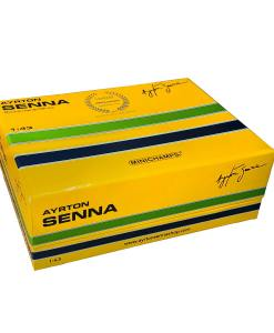 Modellino Minichamps 143 Ayrton Senna McLaren Honda MP44 Formula 1 Japan GP 1988 2