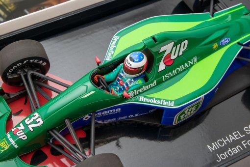 Modellino Minichamps 143 Michael Schumacher Jordan Ford 191 First F1 GP Spa 1991 2