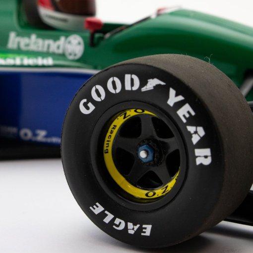 Modellino Minichamps 143 Michael Schumacher Jordan Ford 191 First F1 GP Spa 1991 6