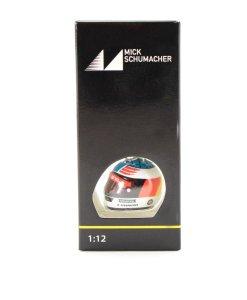 Portachiavi Mick Schumacher mini casco 3D 2017 Spa 2