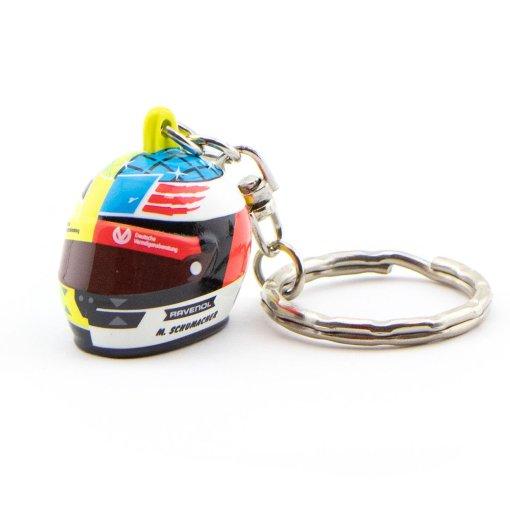 Portachiavi Mick Schumacher mini casco 3D 2017 Spa