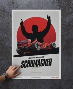 Poster Michael Schumacher Japan Suzuka GP 2000 50x70cm 1