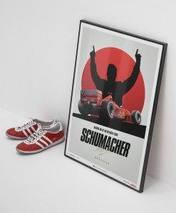 Poster Michael Schumacher Japan Suzuka GP 2000 50x70cm 3