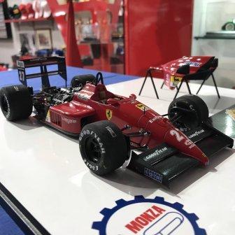 Ferrari F1-87/88C Michele Alboreto Monza 1:20