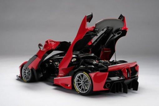Modellino Auto Amalgam 18 Ferrari FXXK Rosso Limited Ed 199 pcs. resin cast