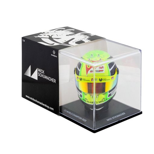 Mick Schumacher miniature helmet 2020 14 box