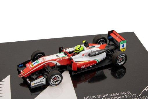 Modellino Auto F3 Minichamps 143 Dallara Mercedes F317 Mick Schumacher 2018 1