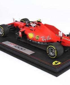 Modellino F1 BBR MODELS 118 Ferrari SF1000 2020 Charles Leclerc Austrian GP Special Box retro