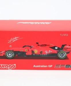 Bburago Signature Ferrari Charles Leclerc F1 SF90 Die cast 143 2019 4