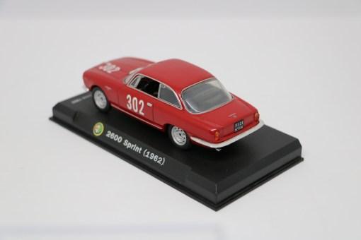 Alfa Romeo 143 2600 Sprint 1962 Bologna Passo della Raticosa 1968 2