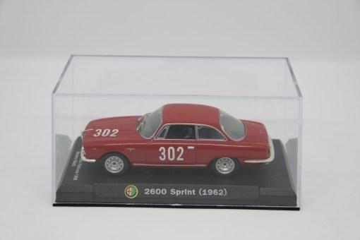 Alfa Romeo 143 2600 Sprint 1962 Bologna Passo della Raticosa 1968 3