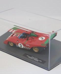 Altaya 143 Ferrari 312 P 1000km Spa Francorchamps 1972 A. Merzario 2