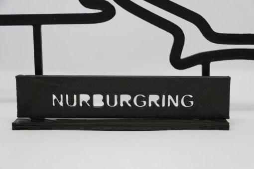 F1 Race track NURBURGRING GP Germania 23x14cm 4