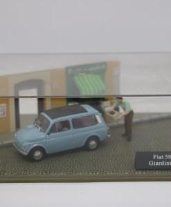 Hachette 143 Fiat 500 Giardiniera DIORAMA