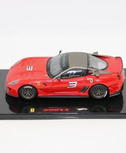 Hotwheels Elite 143 Ferrari 599XX Rosso corsa