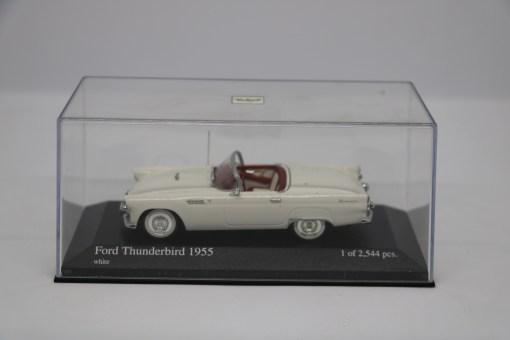 Minichamps 143 Ford Thunderbird 1955 white 6