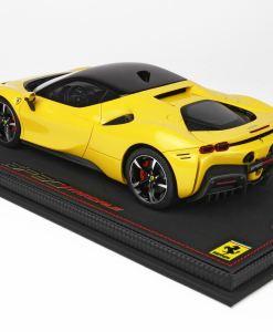 118 BBR MODELS Ferrari SF90 Stradale Giallo Modena P18180B 4