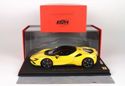 118 BBR MODELS Ferrari SF90 Stradale Giallo Modena P18180B