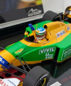 118 Michael Schumacher Benetton Ford B192 Belgian GP Winner 1992 2
