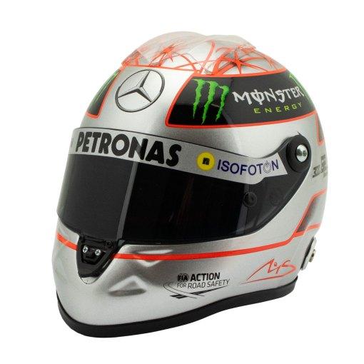 12 Michael Schumacher Helmet 300 gp Spa