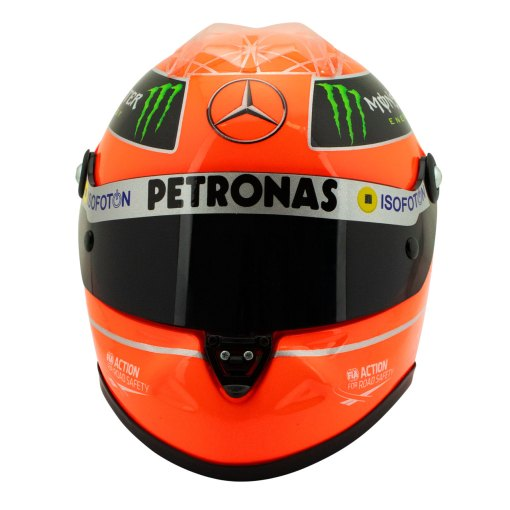 Michael Schumacher Final Helmet GP Formula 1 2012 12 1