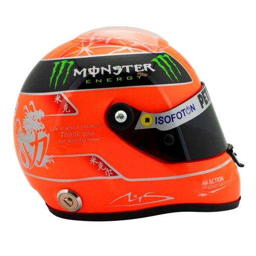 Michael Schumacher Final Helmet GP Formula 1 2012 12 4