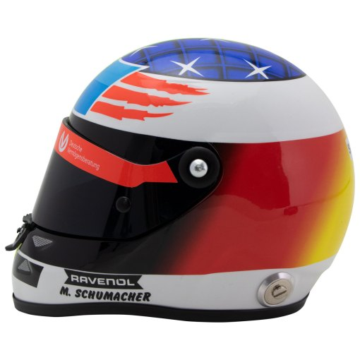 Mick Schumacher miniature helmet Belgium Spa 2017 scala 12 1