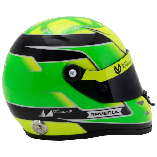 Mick Schumacher miniature helmet Belgium Spa 2017 scala 12 3