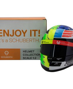 Mick Schumacher miniature helmet Belgium Spa 2017 scala 12 5