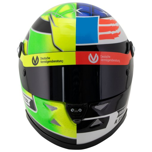 Mick Schumacher miniature helmet Belgium Spa 2017 scala 12