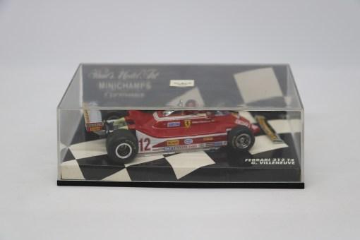 Minichamps 143 Ferrari 312 T4 G. Villeneuve 1