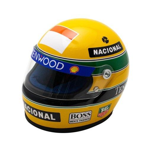 Mini Helmet scala 12 Ayrton Senna 1993