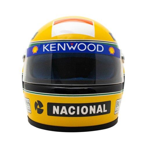 Mini Helmet scala 12 Ayrton Senna 1993 6