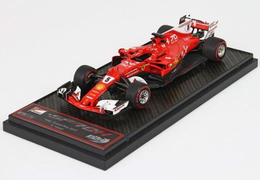 BBR 143 Ferrari SF70 H GP Italia 2017 Vettel