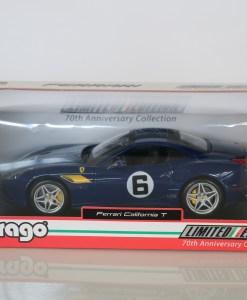 Bburago 118 Ferrari California T 70th Anniversary Collection 3