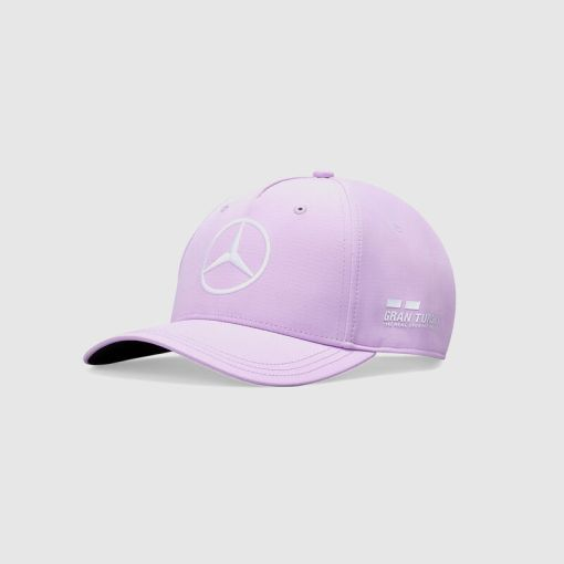 Cappellino Lewis Hamilton Barcellona 2020 viola