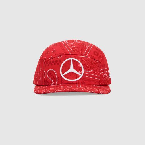 Cappellino Mercedes F1 Lewis Hamilton GP Inghilterra 2020 fronte