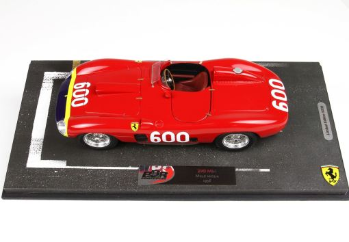 BBR 118 Ferrari 290 MM 1956 Manuel Fangio BASE RACING laterale