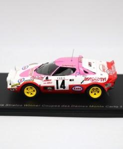 SPARK 143 Lancia Stratos Winner Coupes des Dames Monte Carlo 1977 2