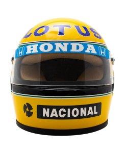 Mini Helmet Ayrton Senna Formula Uno 1987 Lotus scala 12 2
