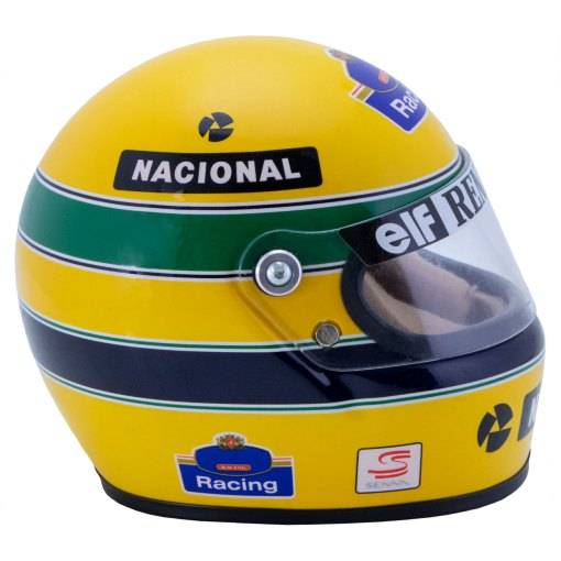 Mini Helmet Ayrton Senna Formula Uno 1994 Williams Renault scala 12 1