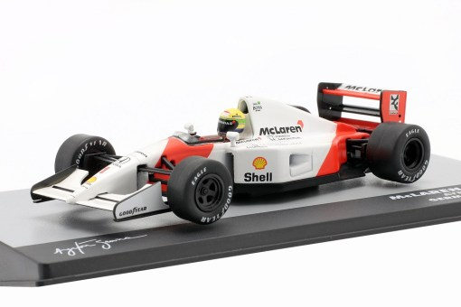 Modellino Altaya 1 43 McLaren MP47 Ayrton Senna Germany GP 1992 2
