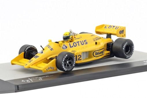 Modellino Altaya 143 Lotus 99T Ayrton Senna Monaco GP 1987 3