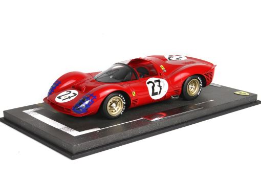 BBR 143 Ferrari 330 P3 Spider 24h Le Mans 1966 FRONTE
