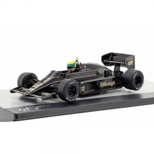Modellino Atlas 143 Ayrton Senna Lotus 98T 12 Brazil F1 GP 1986 3