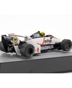 Modellino Atlas 143 Ayrton Senna Toleman TG183B 19 Brazil F1 GP 1984 2